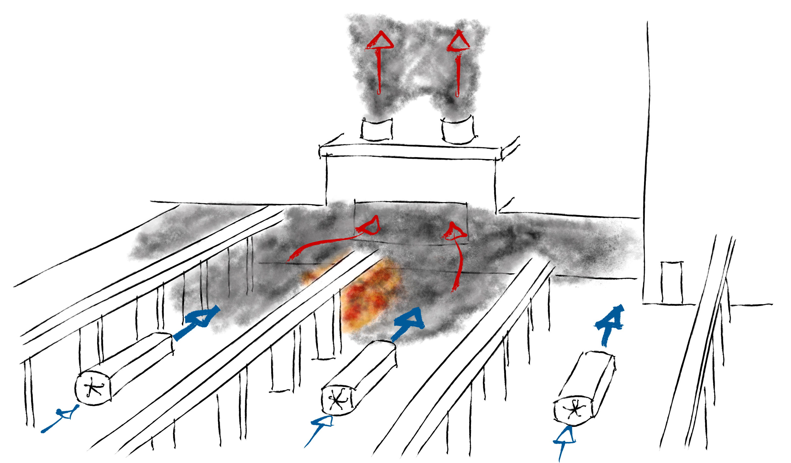 Fire and Smoke Simulation - BuildWind